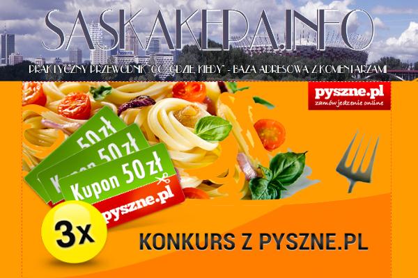 2014-04-14: wyniki konkursu SaskaKepa.info & pyszne.pl