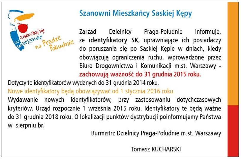 2015-01-14: naklejki SK ważne do końca 2015 roku!