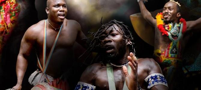 2016-04-08:  Art Gibami – taneczny spektakl w wykonaniu Baletu z Gwinei & Gaspard Conde