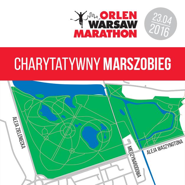 2016-04-23: Charytatywny Marszobieg Orlen Maraton