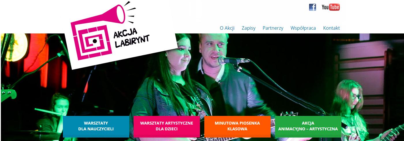 Akcja Labirynt i PROM Kultury zapraszają młodzież na muzykowanie
