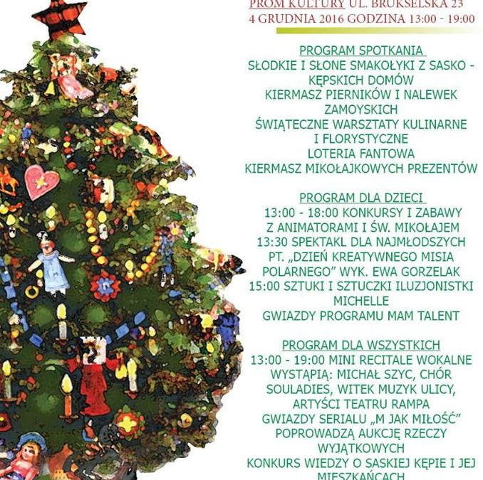 2016-12-04: Świąteczne Spotkanie Przyjaciół Saskiej Kępy – VI Edycja