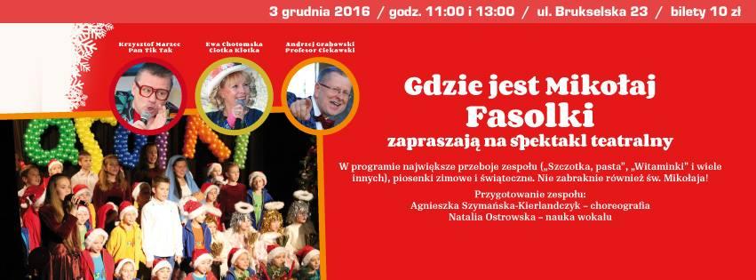 2016-12-03: GDZIE JEST Mikołaj?