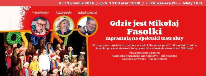 2016-12-11: GDZIE JEST Mikołaj?