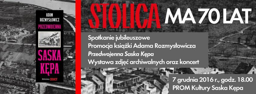 2016-12-07: 70-ciolecie magazynu Stolica