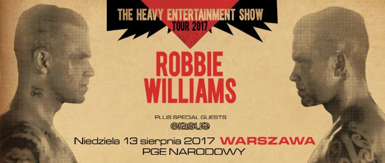 2017: Robbie Williams na Narodowym – koncert odwołany!