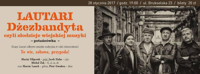 2017-01-28: Dżezbandyta czyli złodzieje wiejskiej muzyki – potańcówka