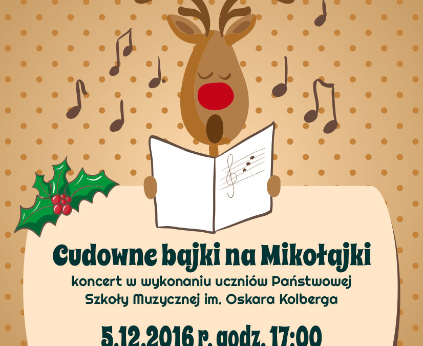 2016-12-05: Cudowne bajki na Mikołajki