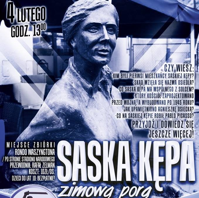 2017-02-04: Saska Kępa zimową porą – spacer z przewodnikiem!