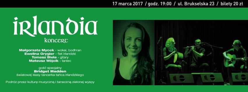 """2017-03-17:  """"Irlandia"""" – koncert"""