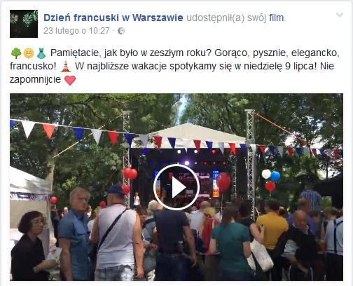 2017-07-09: dzień francuski w Warszawie