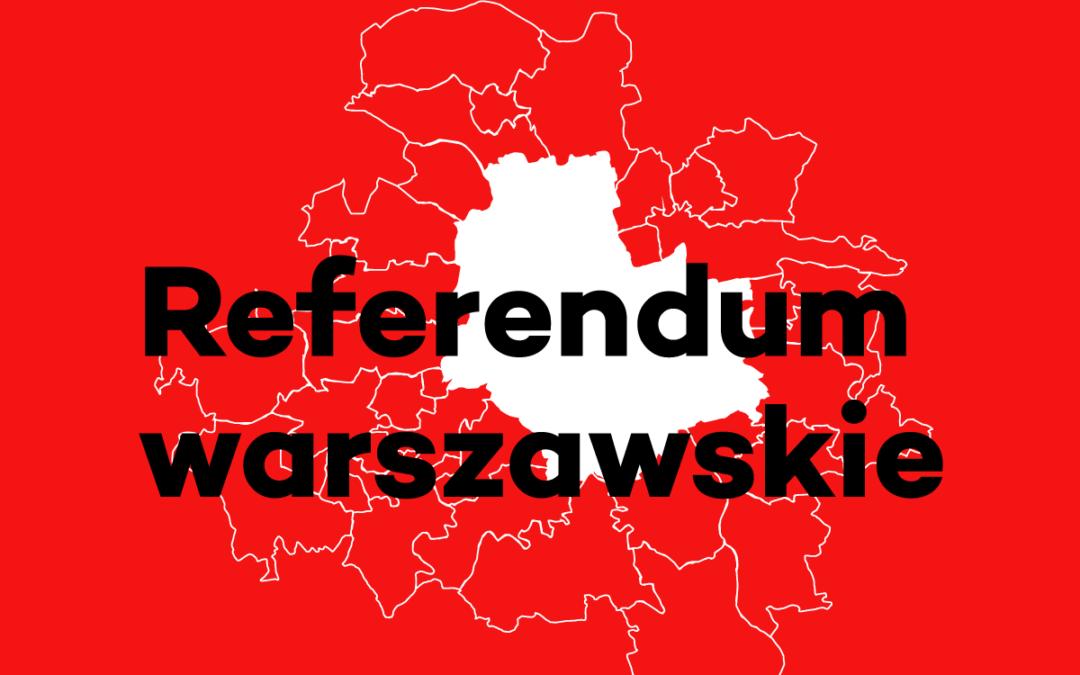 2017-03-26: referendum gminne dotyczące zmiany ustroju Warszawy – nie odbędzie się w tym terminie