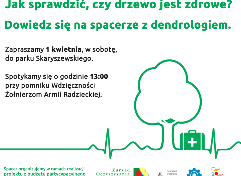 2017-04-01: spacer z dendrologiem po Skaryszaku