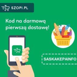Darmowa dostawa w Szopi.pl dla nowych klientów!