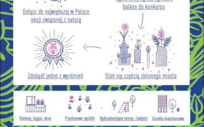 """2017-06-30: ostatni dzień przyjmowania zgłoszeń w konkursie """"Warszawa w kwiatach i zieleni"""""""