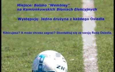 2017-05-28: Turniej piłki nożnej o Puchar Kamionkowskich Błoni Elekcyjnych