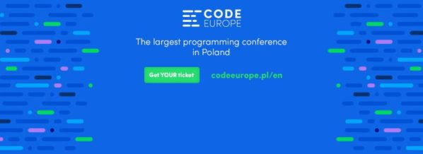 2017-05-25: Code Europe 2017 – konferencja