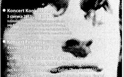 """2017-06-03: XI Ogólnopolski Festiwal im. JONASZA KOFTY """"MOJA WOLNOŚCI"""""""