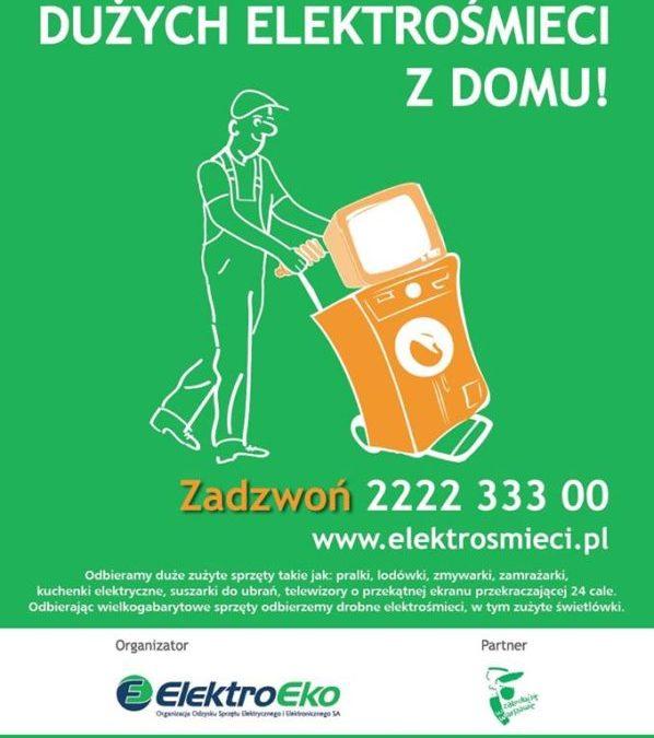 2017-05-10: Bezpłatny odbiór elektrośmieci