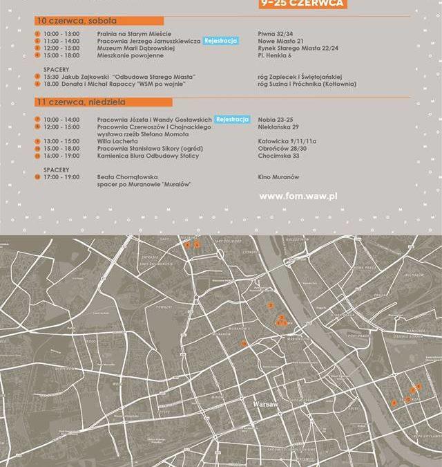 2017-06-11: V Festiwal Otwarte Mieszkania – Warszawa w Nowym Domu – Saska Kępa