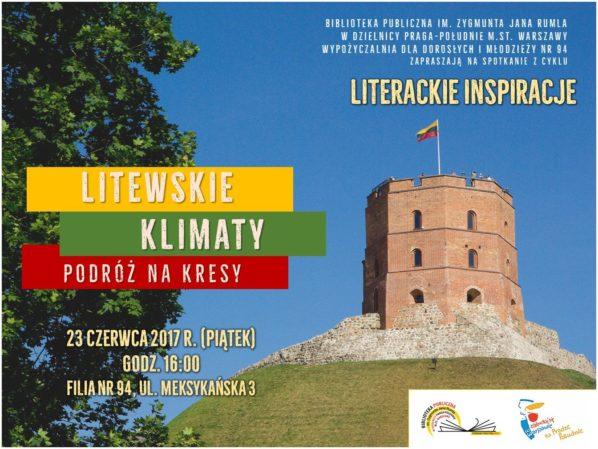 2017-06-23: LITERACKIE INSPIRACJE – spotkanie w bibliotece nr 94