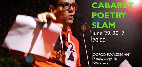 2017-06-29: Cabaret June Poetry Slam!