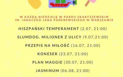 "2017-07-30: Kino plenerowe: ""Plan Maggie"""
