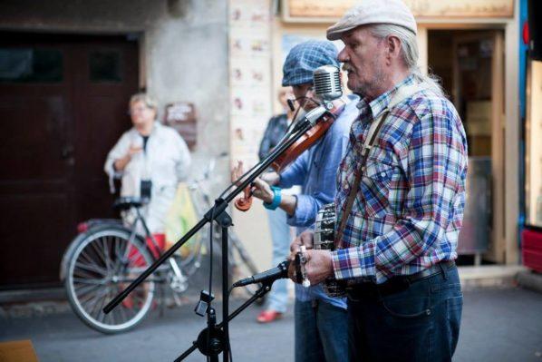 2017-09-02: Muzyczne spotkania na Francuskiej: Kapela Czerniakowska