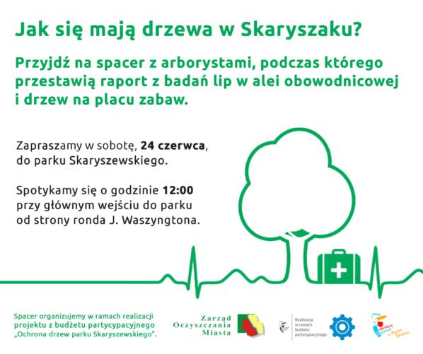 2017-06-24: spacer z arborystami po Skaryszaku