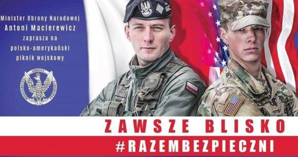 2017-07-06: Polsko-Amerykański Piknik Wojskowy Razem Bezpieczni