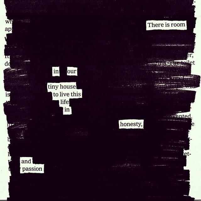 2017-07-13: Blackout Poetry session