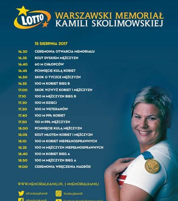 2017-08-15: Warszawski Memoriał Kamili Skolimowskiej