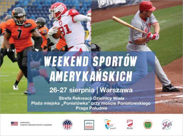 2017-08-26 & 27: Weekend Sportów Amerykańskich #USsportsWarsaw