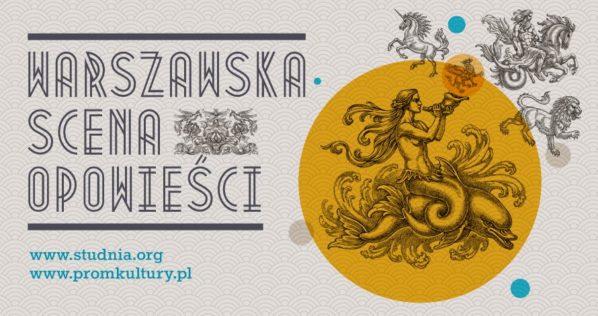 """2017-10-29: Warszawska Scena Opowieści: """"Latający kufer"""""""