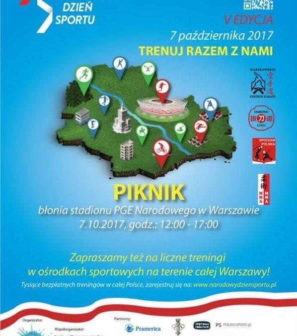 2017-10-07: Piknik w ramach V edycji Narodowego Dnia Sportu