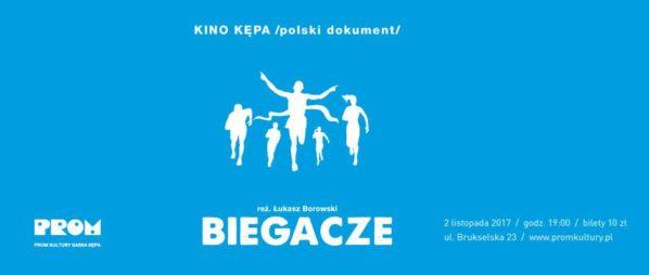 """2017-11-02: KINO KĘPA /polski dokument/: """"Biegacze"""""""