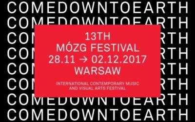 2017-11-28 do 2017-12-02: 13th MÓZG Festival Warszawa