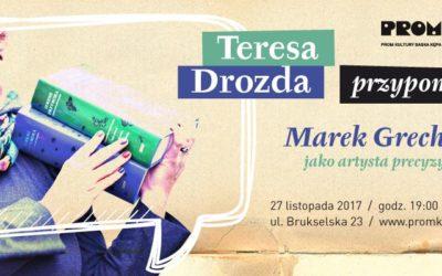 2017-11-27: Teresa Drozda przypomina…