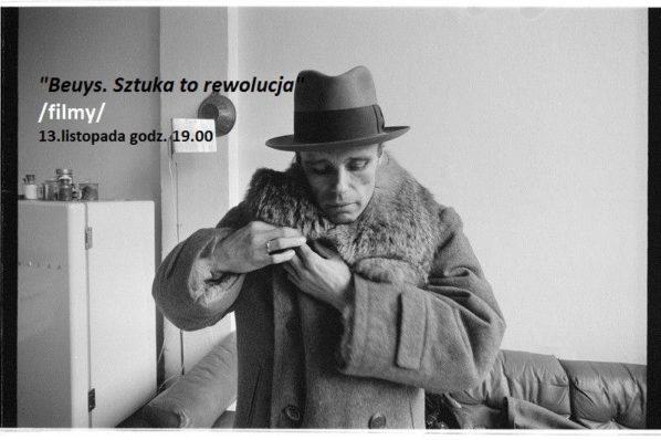 2017-11-13: Beuys. Sztuka to rewolucja /projekcje filmów/