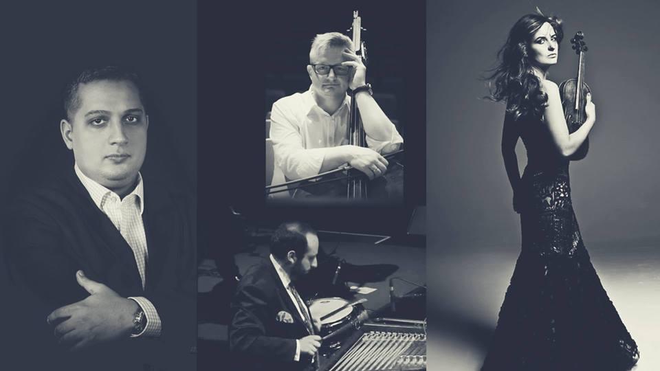 2018-02-11: Szalone skrzypce i muzyka świata / koncert Kadarka Quartet