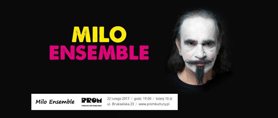 2018-02-22: Koncert Milo Ensemble
