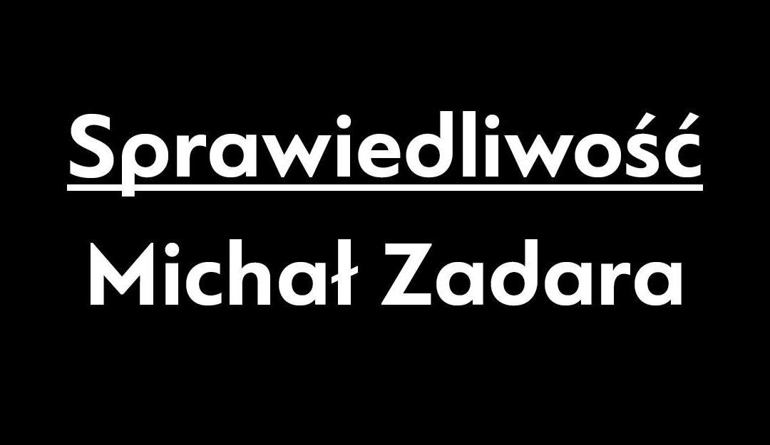 """2018-03-07: """"Sprawiedliwość"""", reż. Michał Zadara – premiera"""